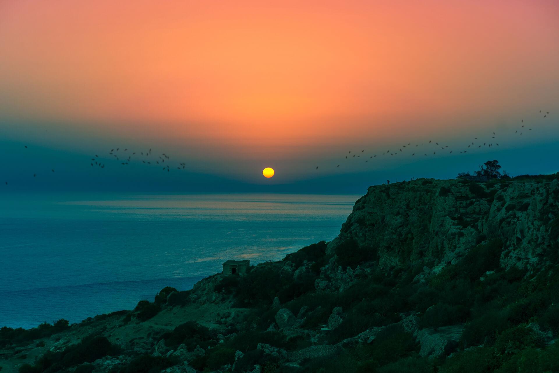 Couché de soleil Malte
